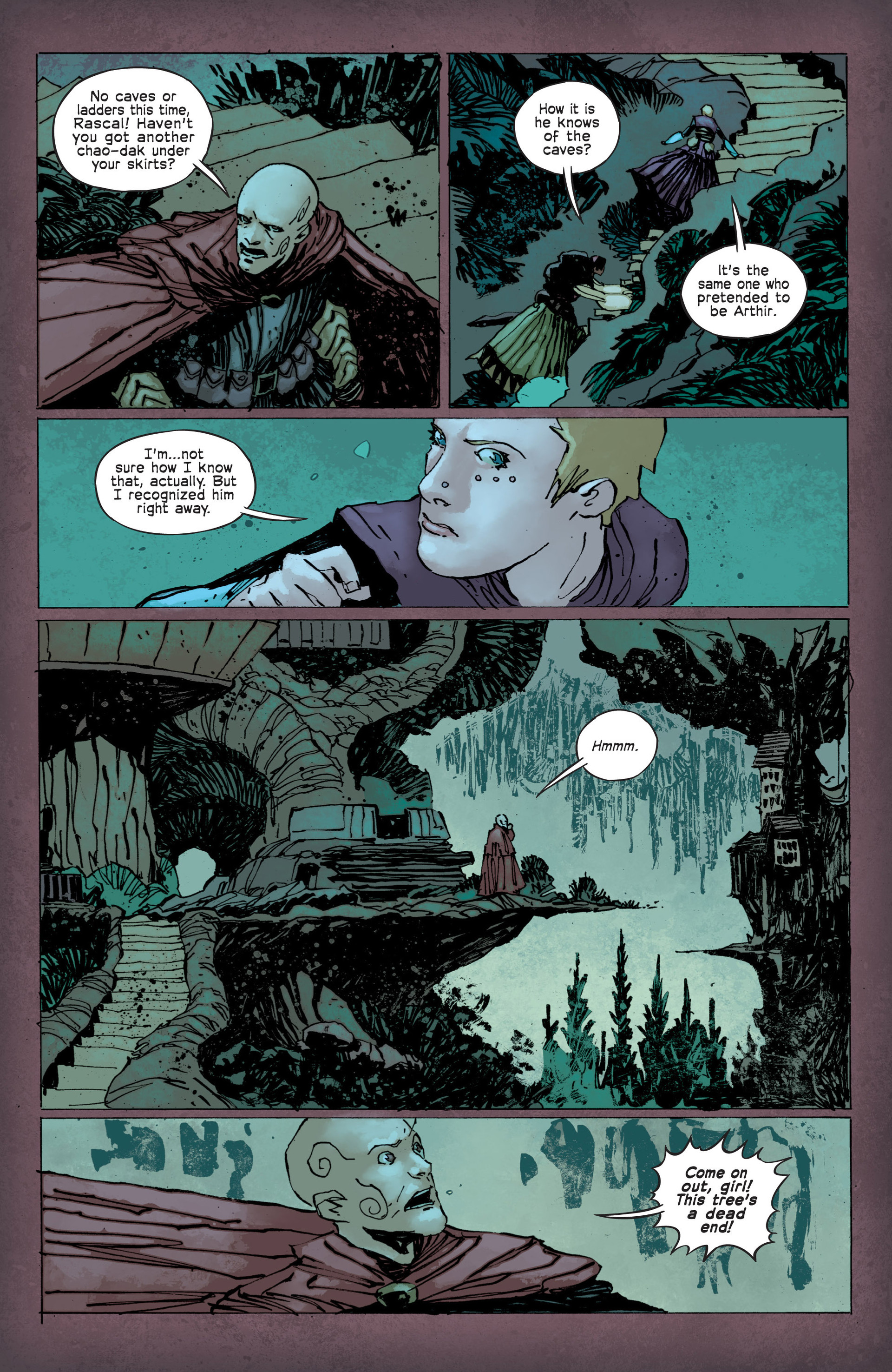 Read online Umbral comic -  Issue #12 - 13