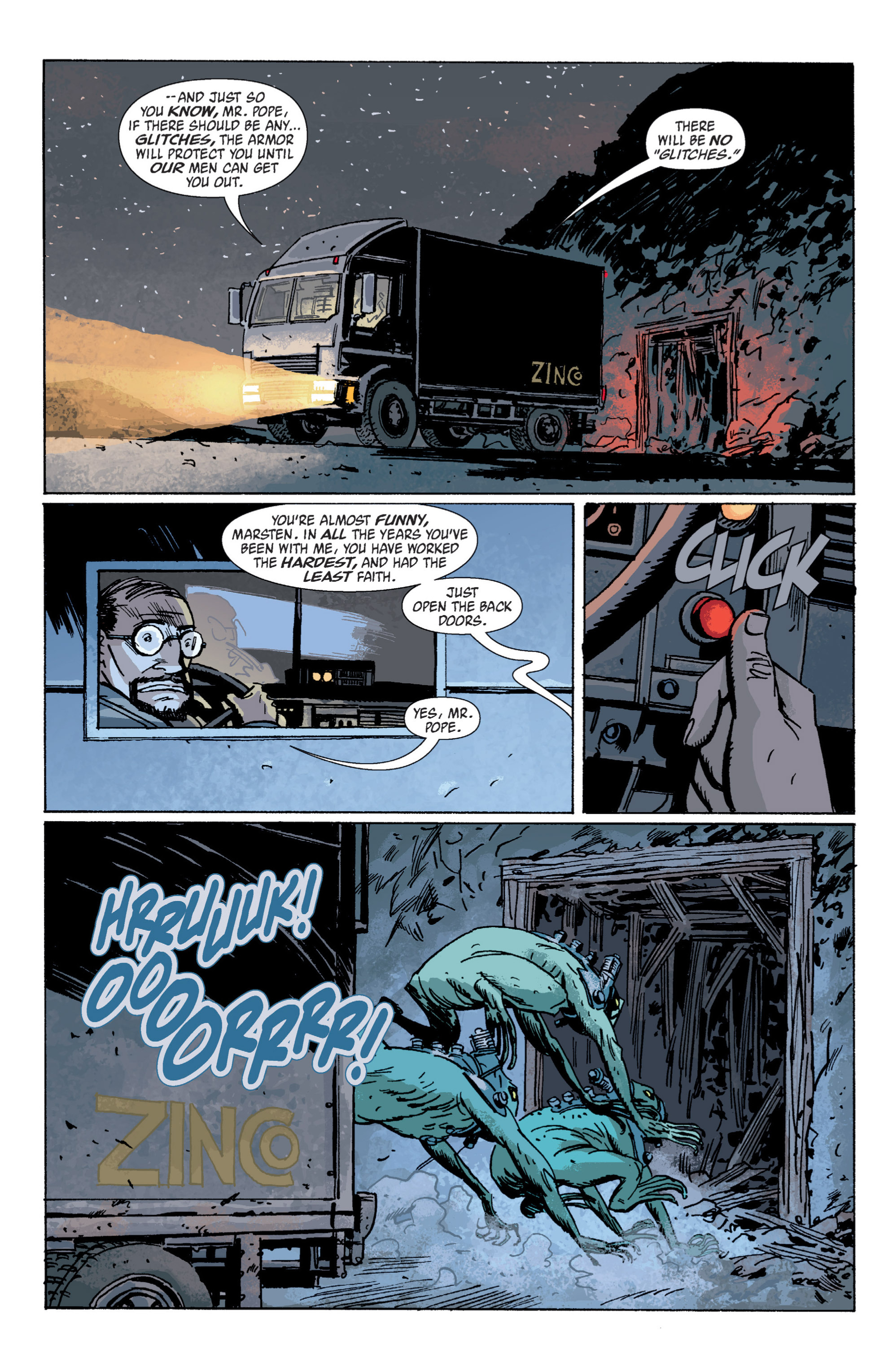 Read online B.P.R.D. (2003) comic -  Issue # TPB 5 - 49