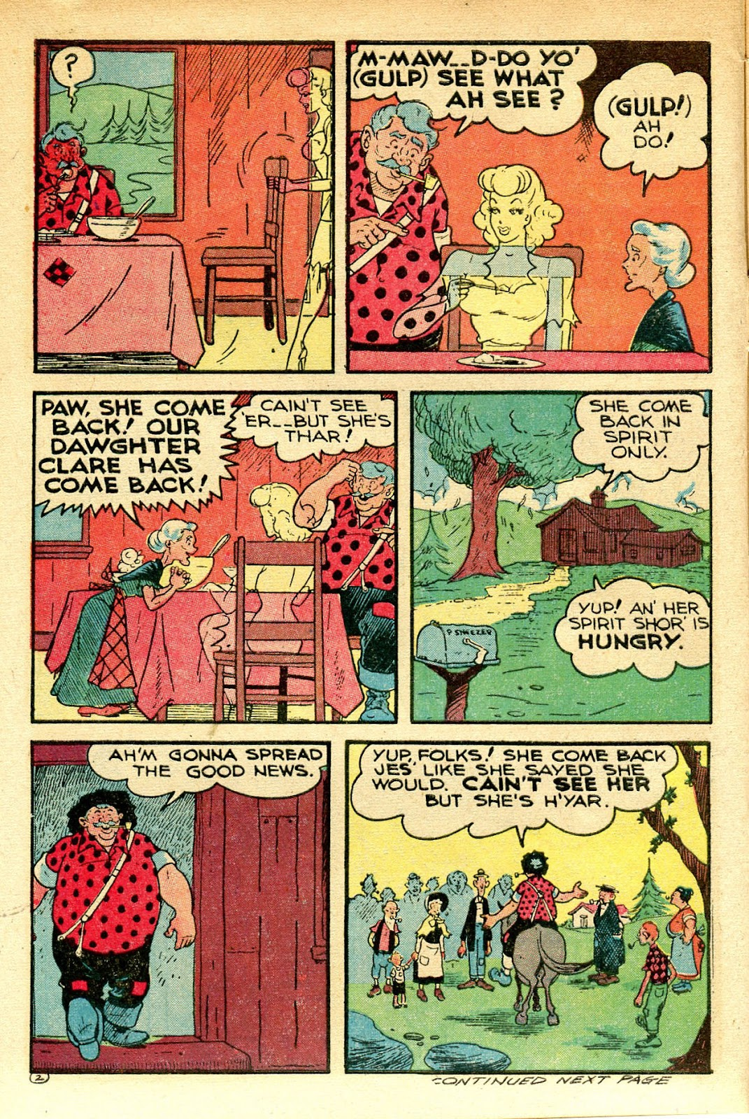Read online Famous Funnies comic -  Issue #129 - 14