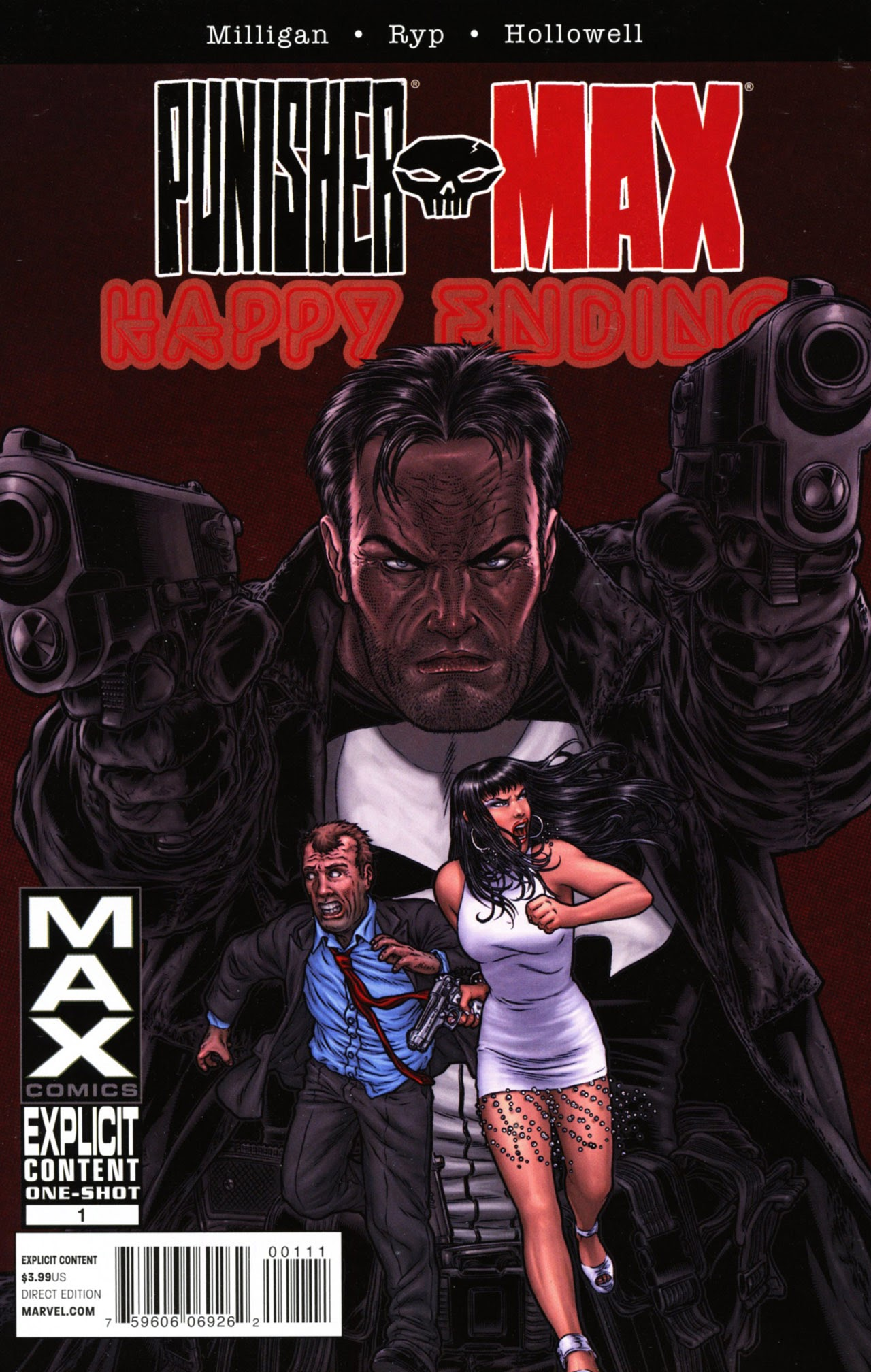 Punisher MAX: Happy Ending Full Page 1