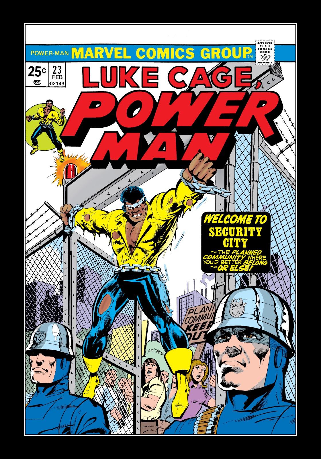 Read online Marvel Masterworks: Luke Cage, Power Man comic -  Issue # TPB 2 (Part 2) - 25