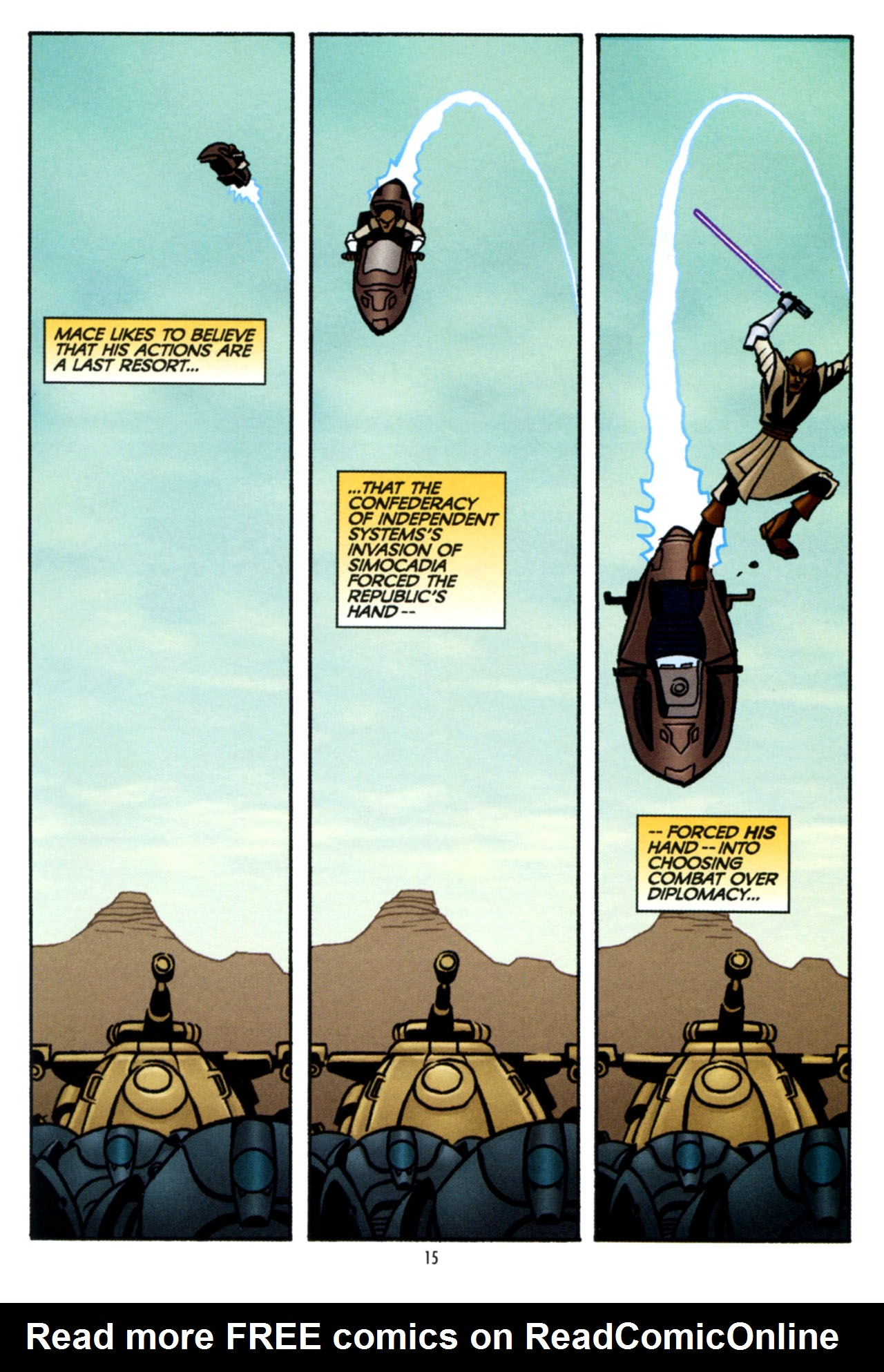 Read online Star Wars: The Clone Wars - The Colossus of Destiny comic -  Issue # Full - 16