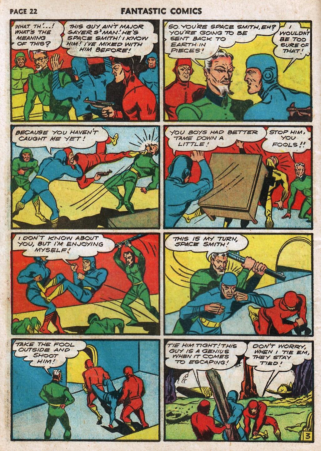 Read online Fantastic Comics comic -  Issue #17 - 24