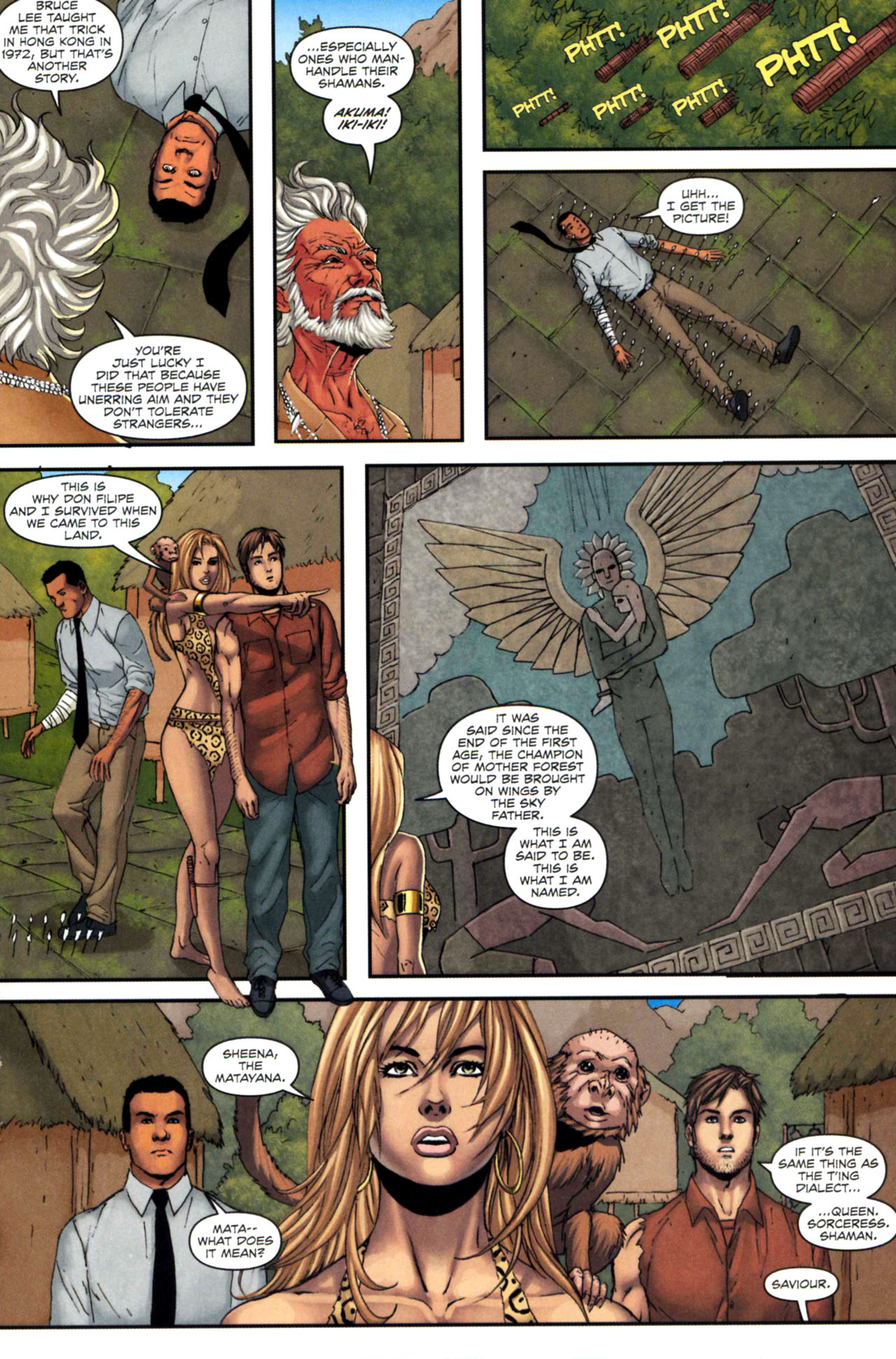 Read online Sheena, Queen of the Jungle comic -  Issue #5 - 15