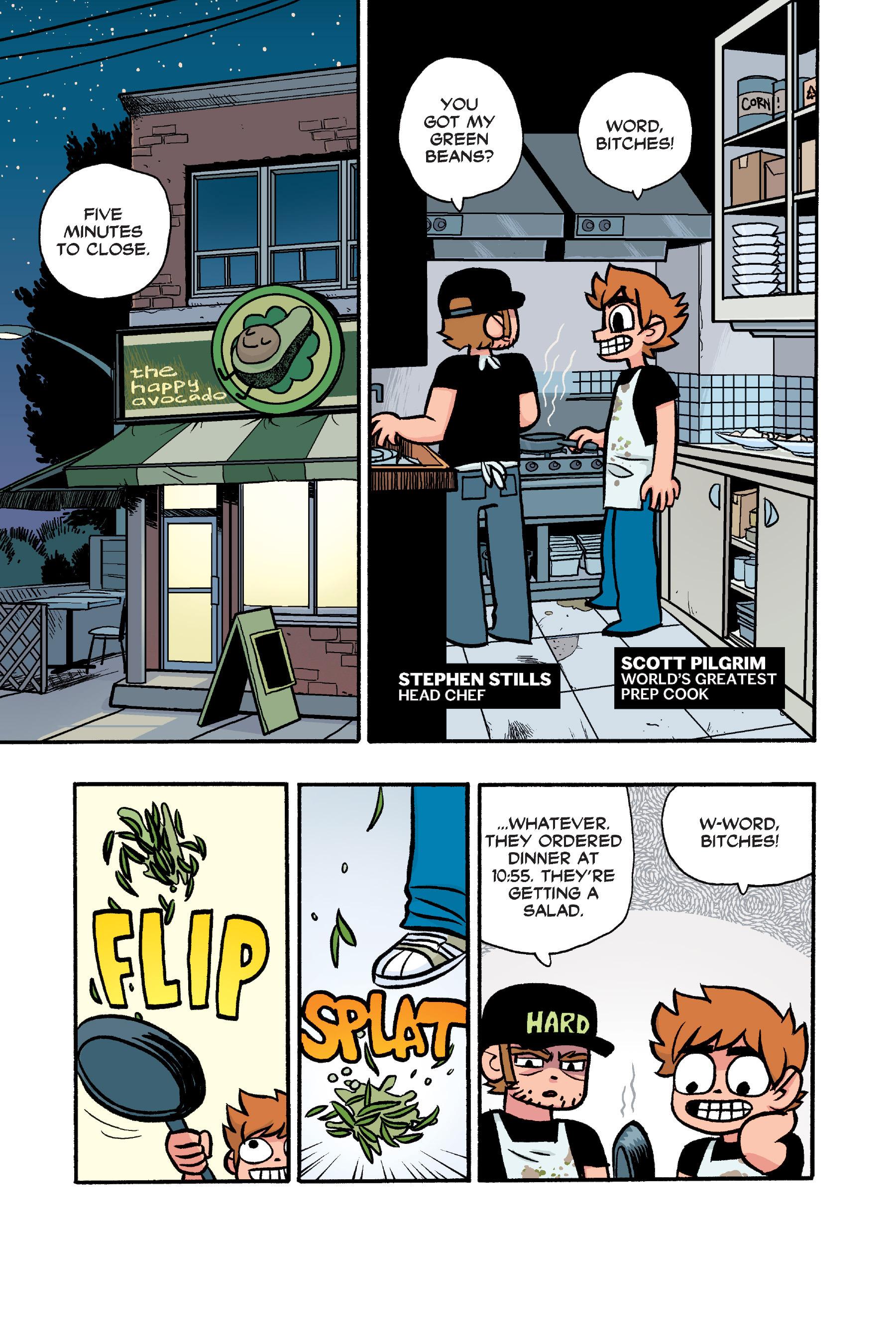 Read online Scott Pilgrim comic -  Issue #6 - 228
