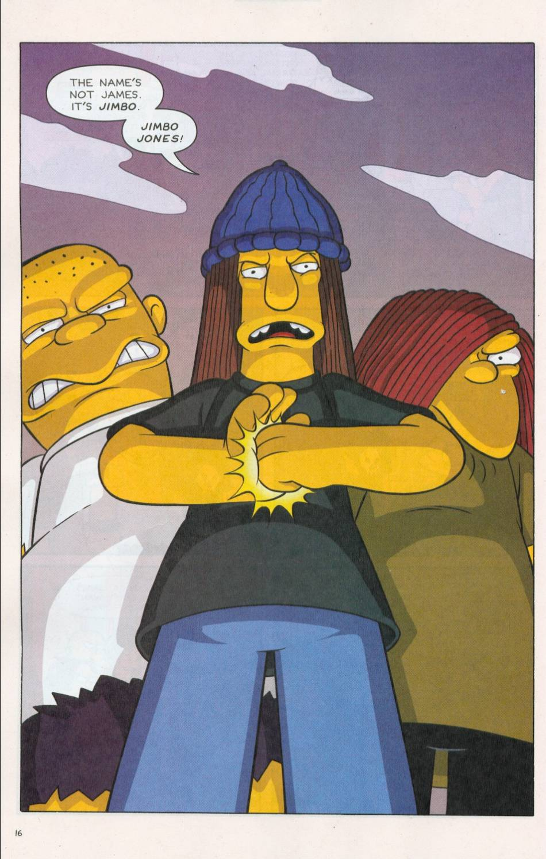Read online Simpsons Comics comic -  Issue #75 - 17