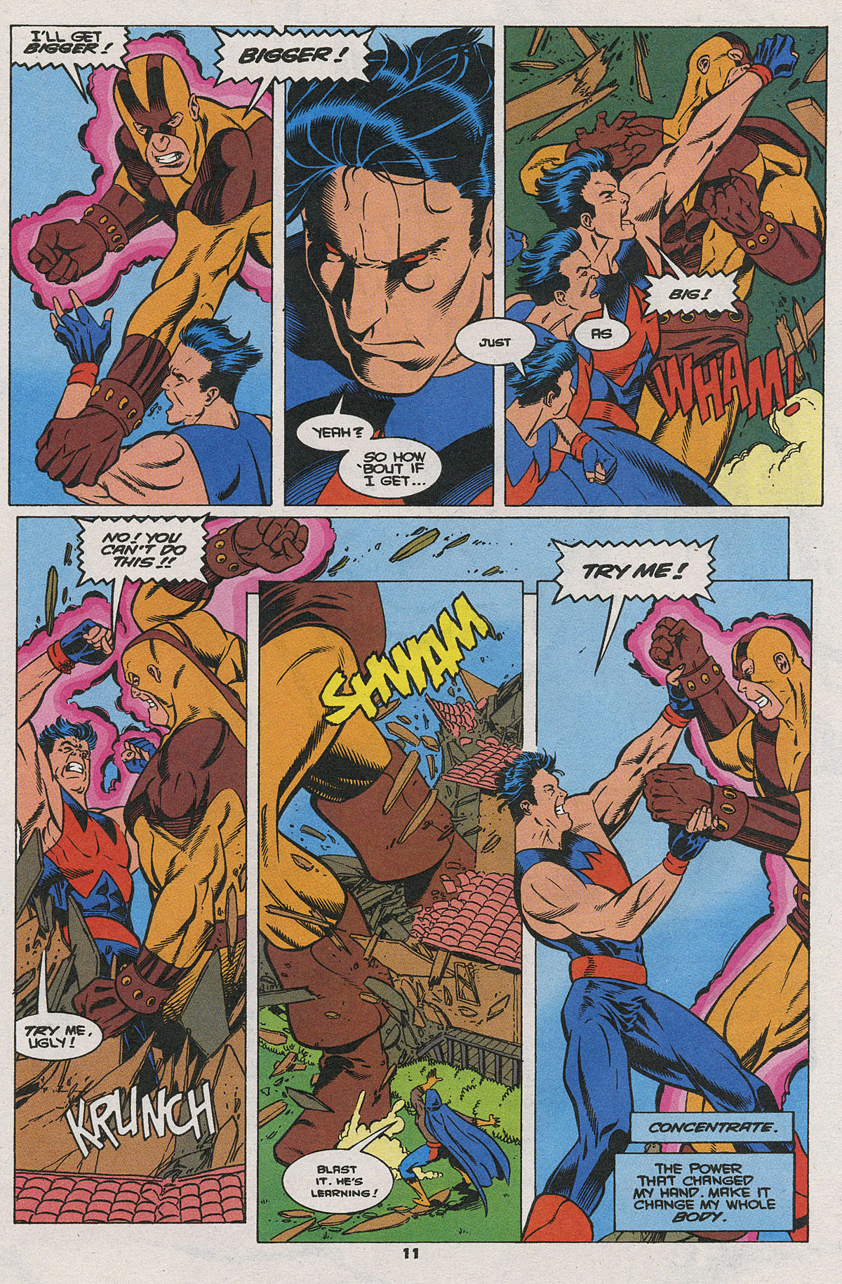 Read online Wonder Man (1991) comic -  Issue #25 - 8