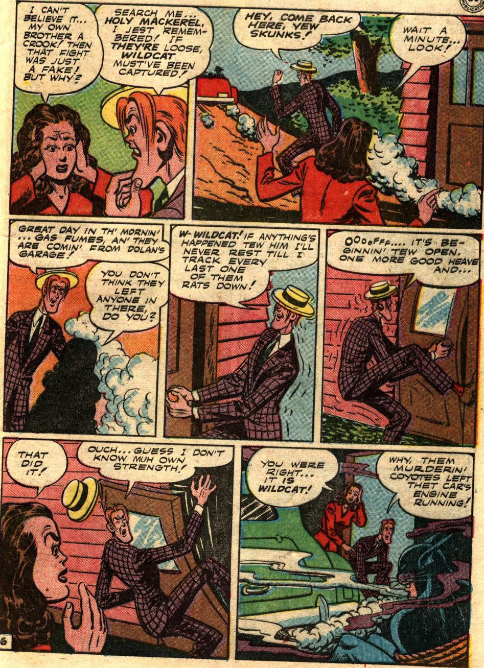 Read online Sensation (Mystery) Comics comic -  Issue #58 - 47
