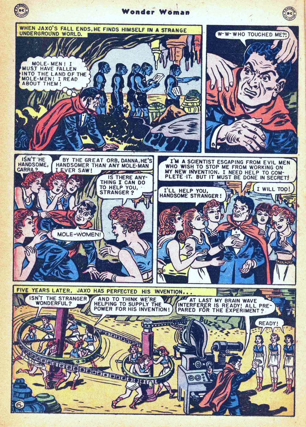 Read online Wonder Woman (1942) comic -  Issue #35 - 22