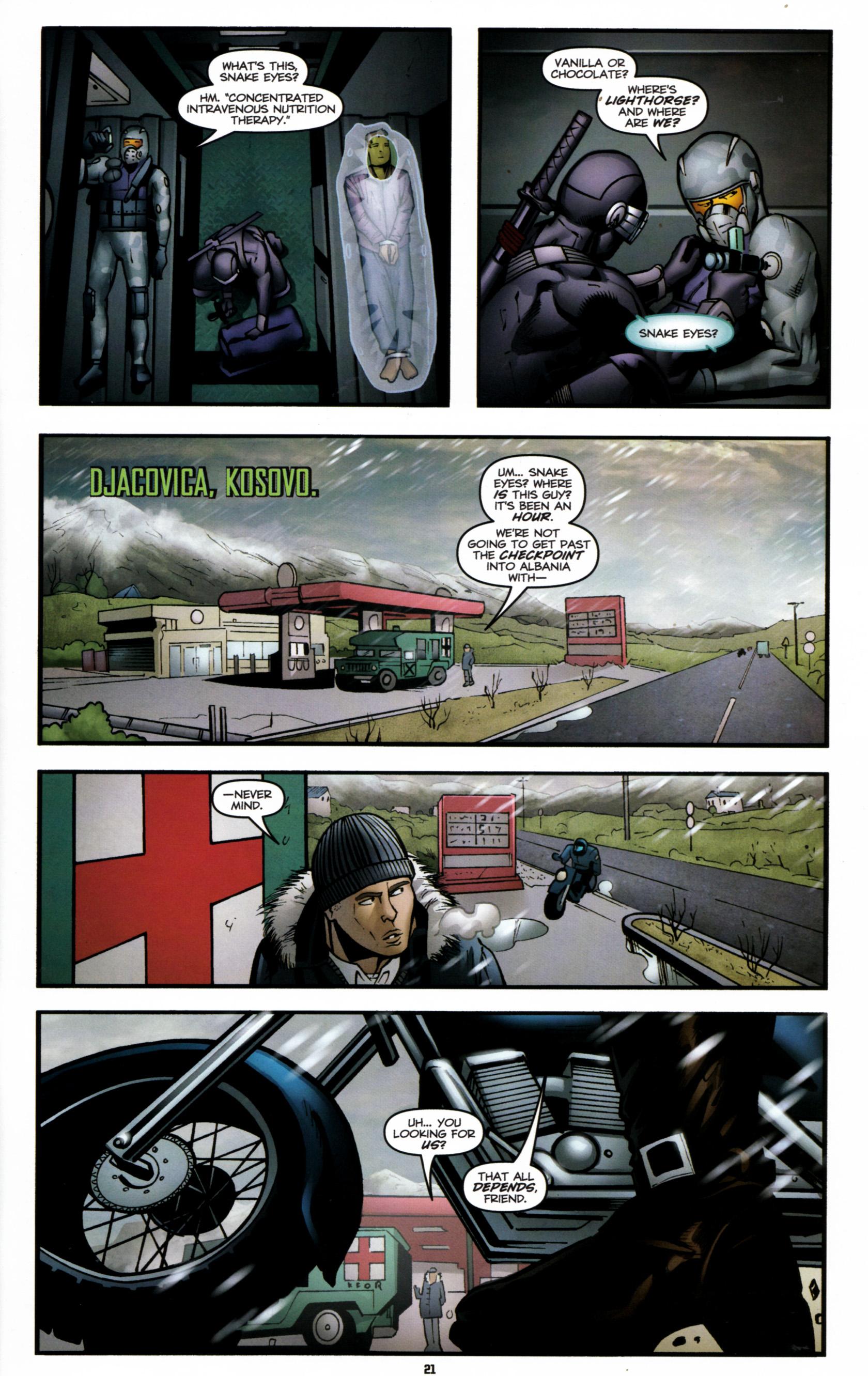 Read online G.I. Joe: Snake Eyes comic -  Issue #6 - 24