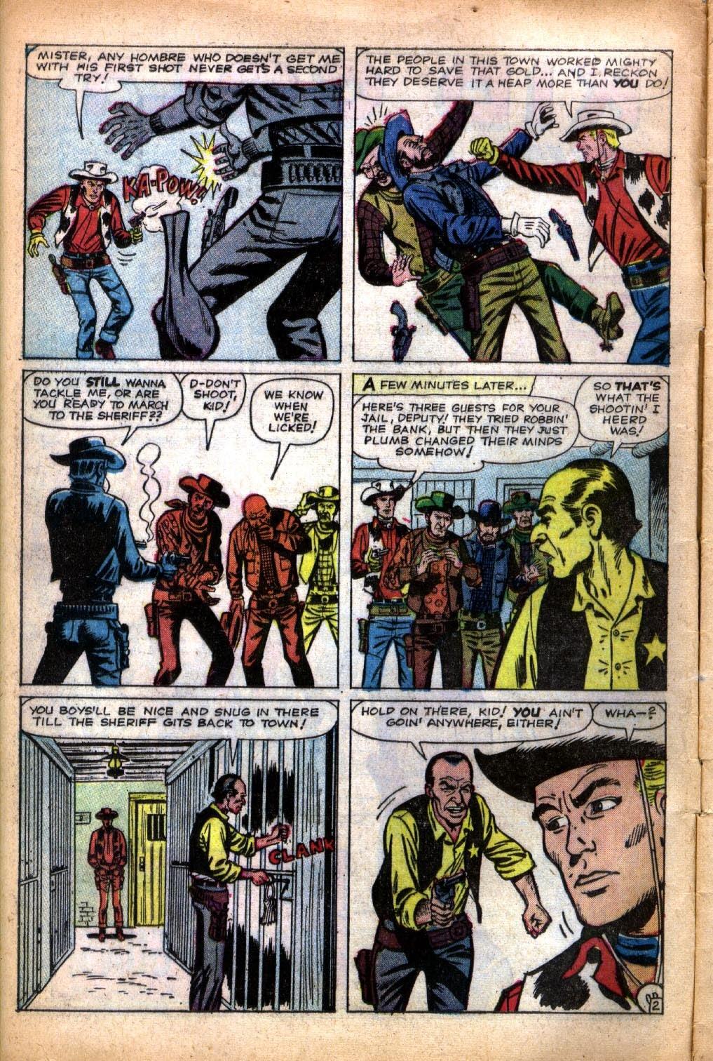 Gunsmoke Western issue 66 - Page 4