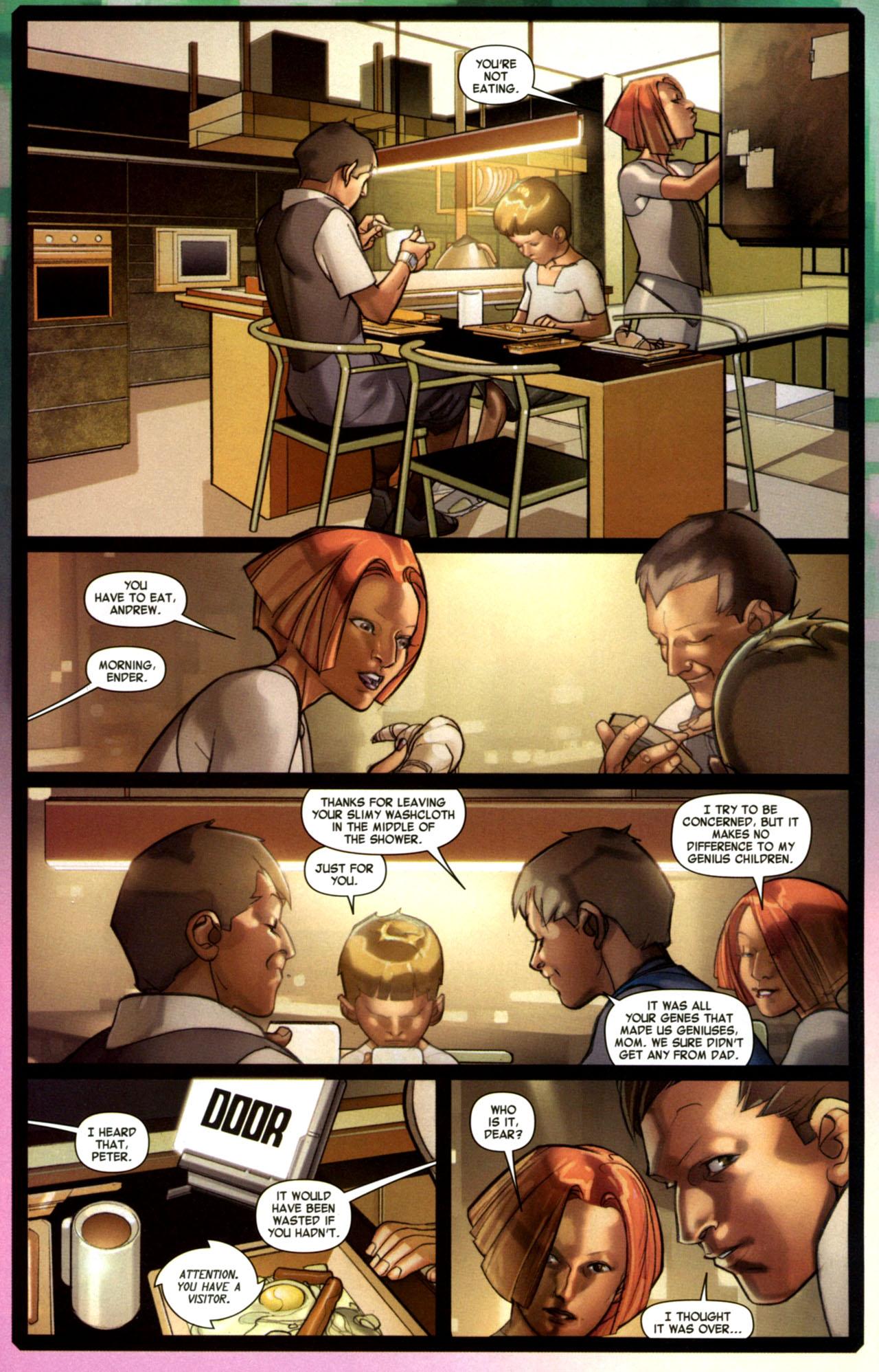 Read online Ender's Game: Battle School comic -  Issue #1 - 19