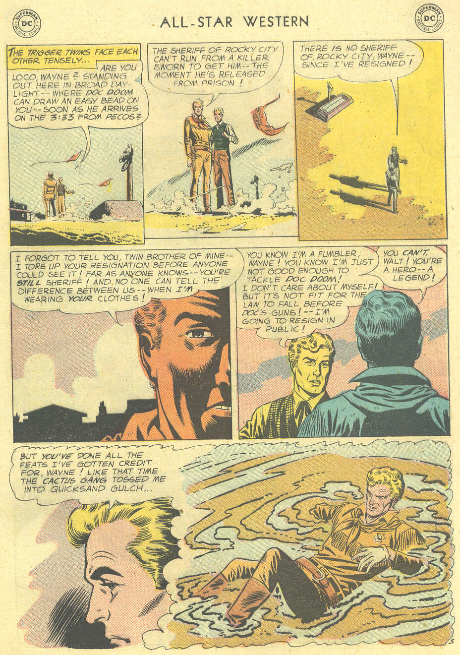 Read online All-Star Western (1951) comic -  Issue #101 - 5