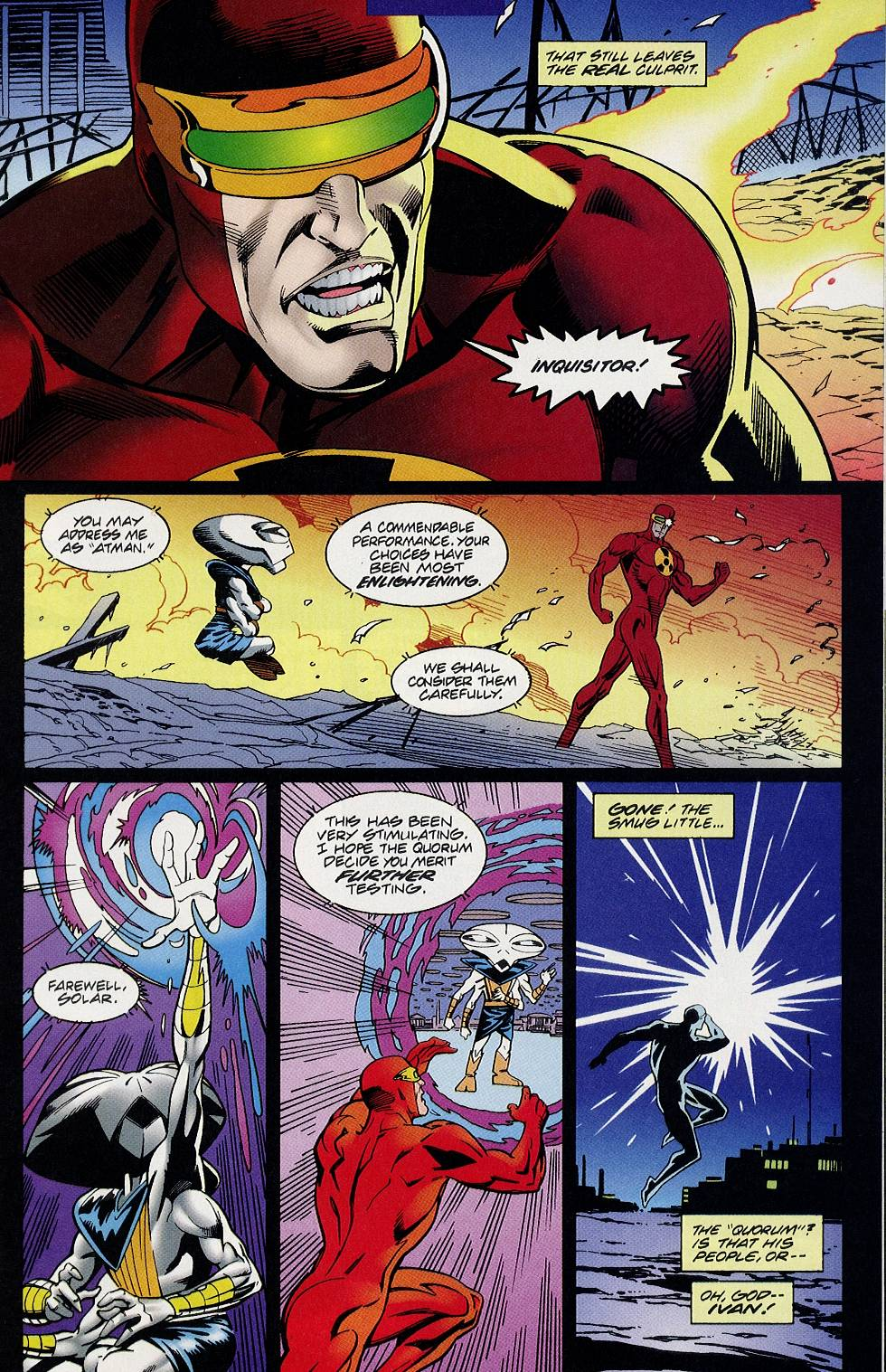 Read online Solar, Man of the Atom comic -  Issue #58 - 20