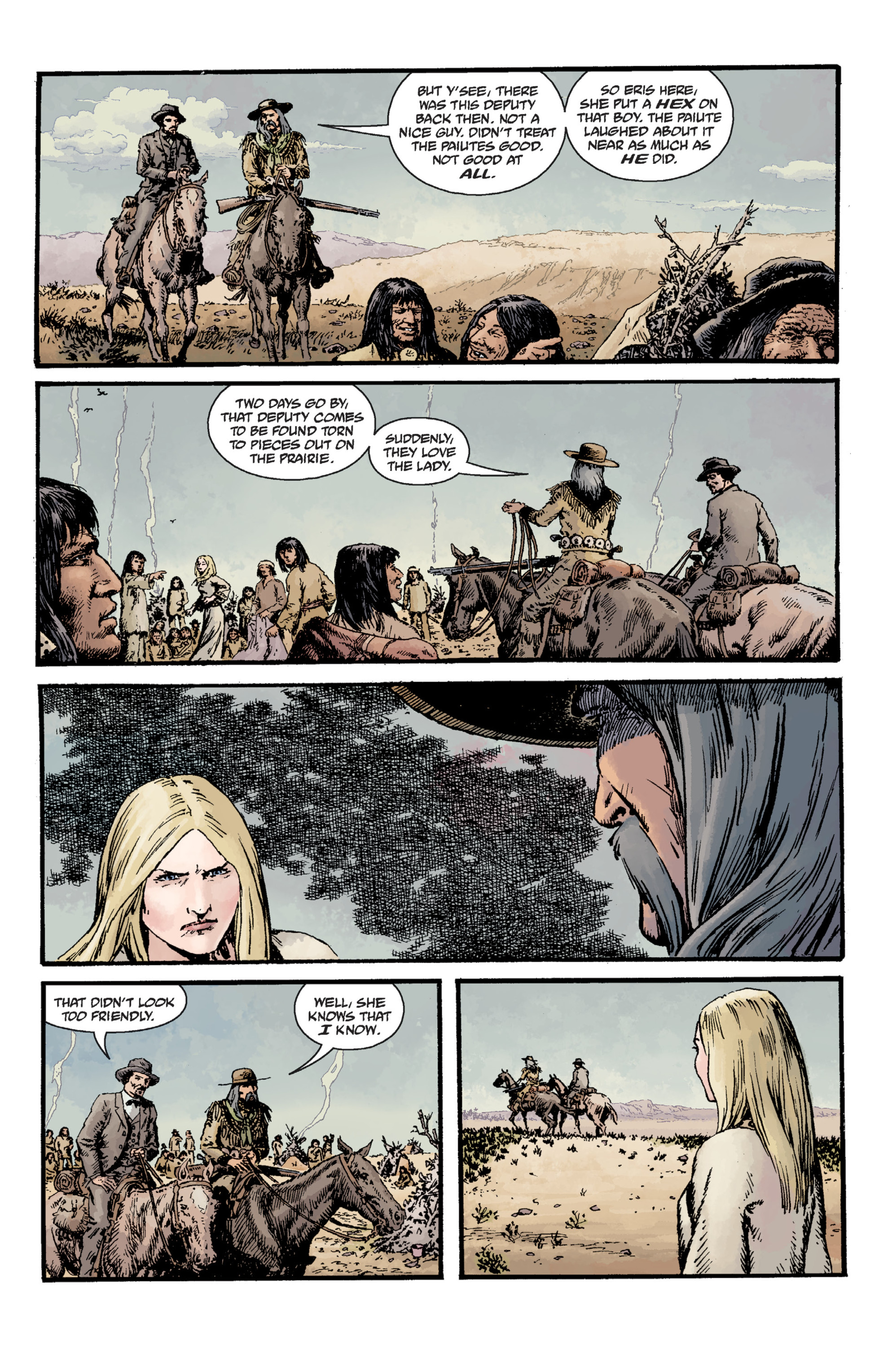 Read online Sir Edward Grey, Witchfinder: Lost and Gone Forever comic -  Issue # TPB - 38