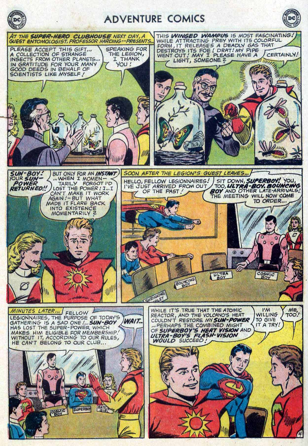 Read online Adventure Comics (1938) comic -  Issue #302 - 25