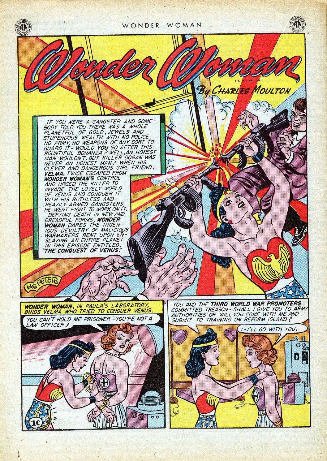 Read online Wonder Woman (1942) comic -  Issue #12 - 34