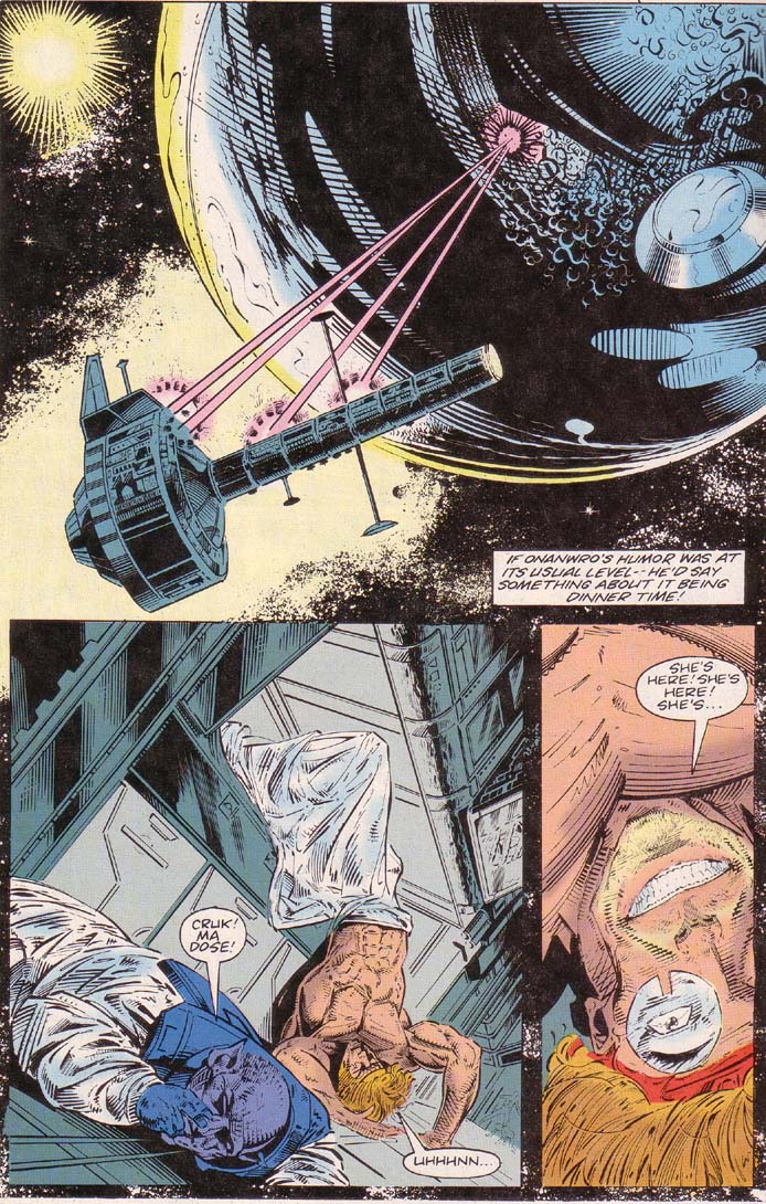 Read online Cyberspace 3000 comic -  Issue #2 - 19