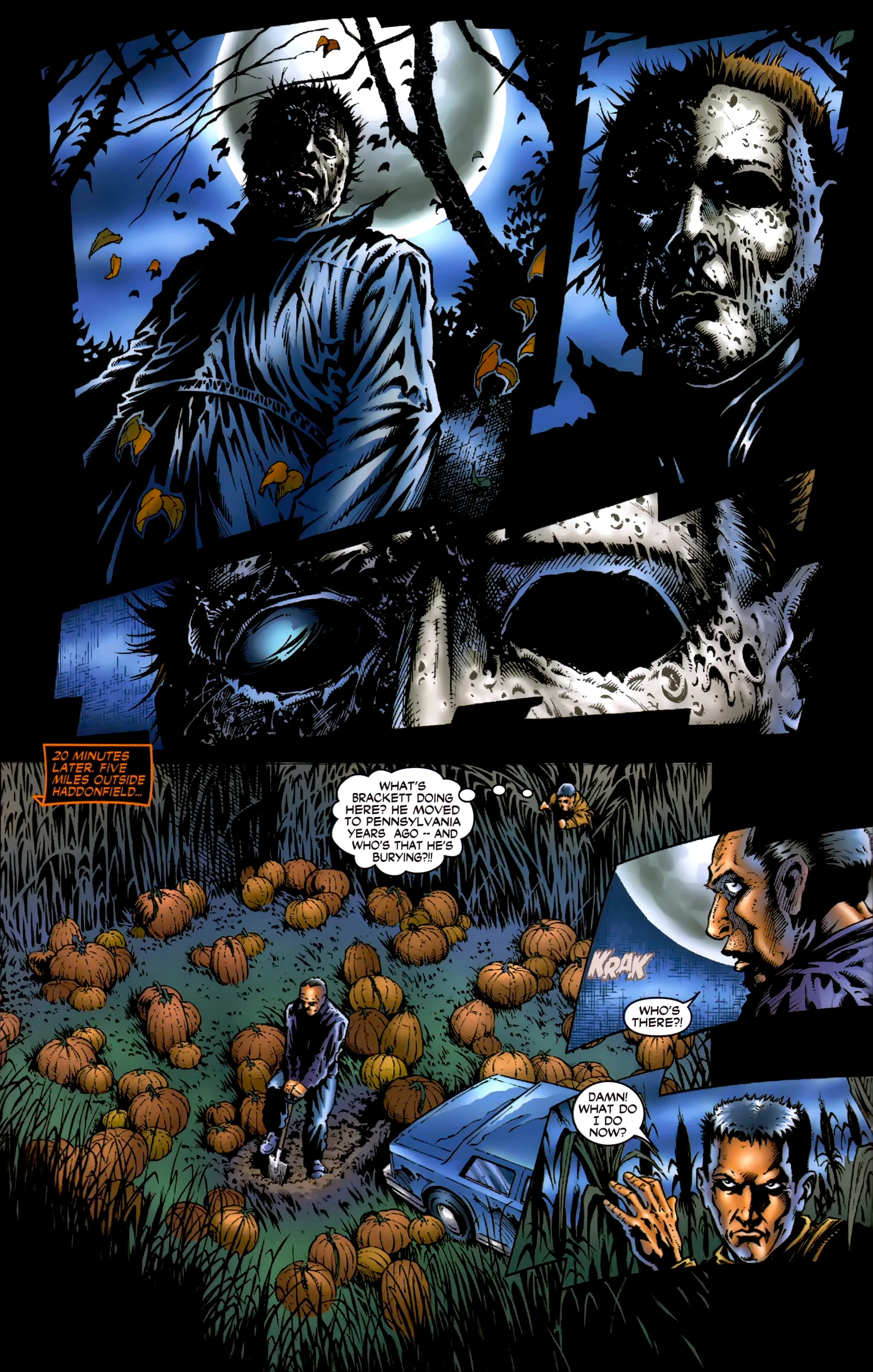 Read online Halloween II: The Blackest Eyes comic -  Issue # Full - 10