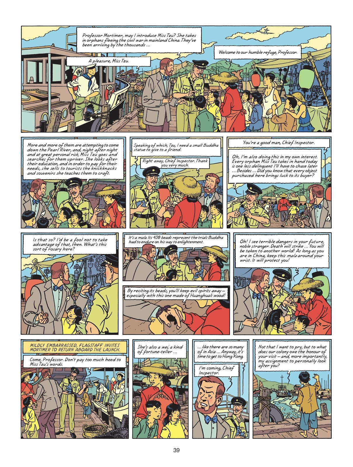 Read online Blake & Mortimer comic -  Issue #25 - 41