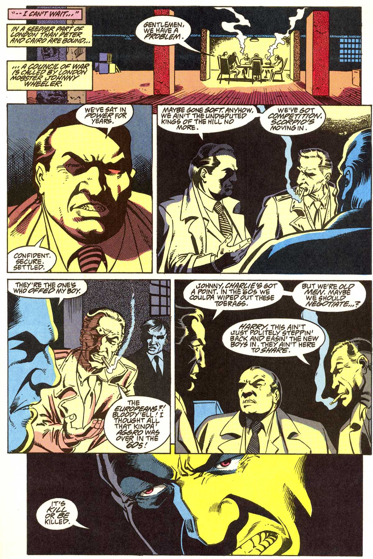 Read online Peter Cannon--Thunderbolt (1992) comic -  Issue #5 - 6