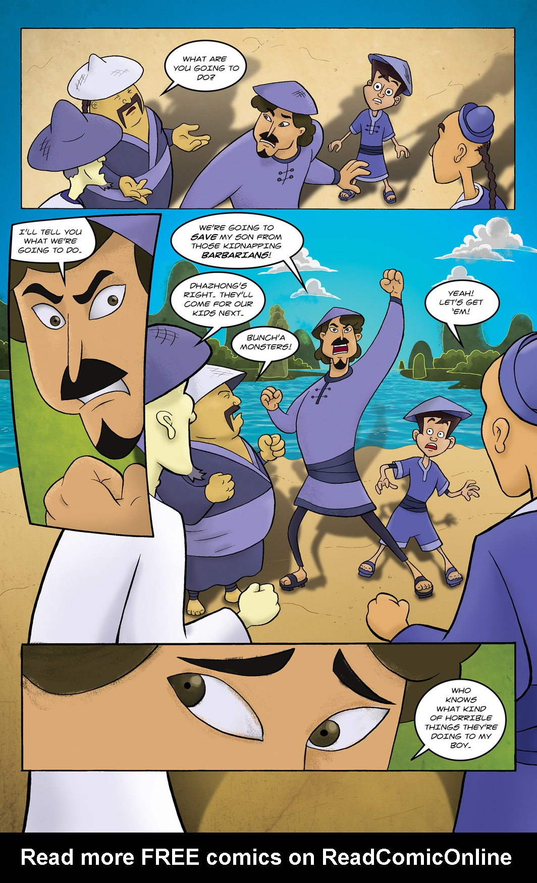 Read online 1001 Nights comic -  Issue #6 - 12