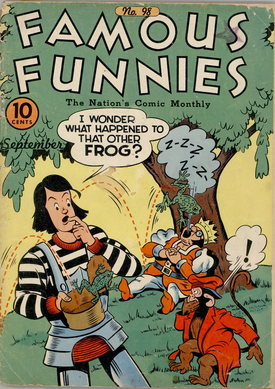 Read online Famous Funnies comic -  Issue #98 - 1
