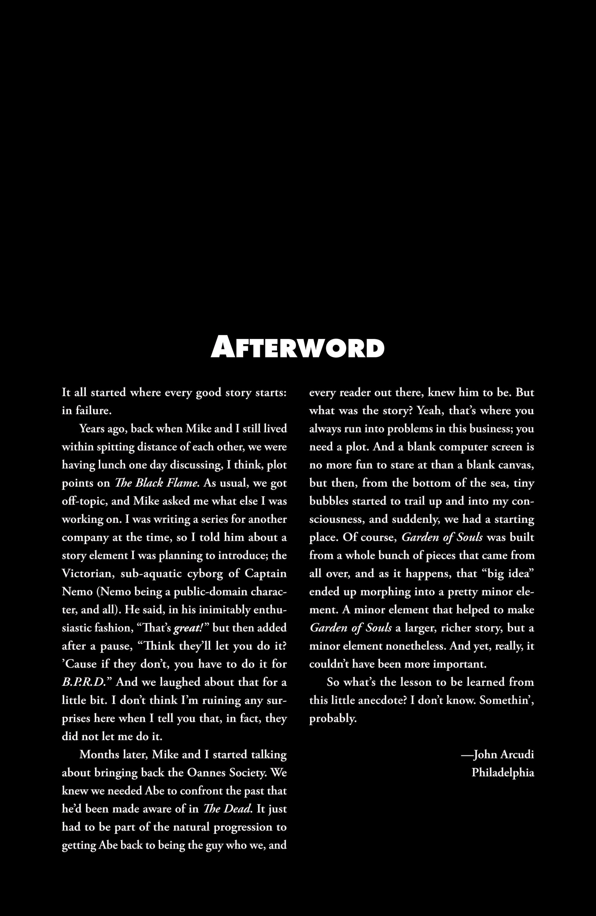 Read online B.P.R.D. (2003) comic -  Issue # TPB 7 - 138