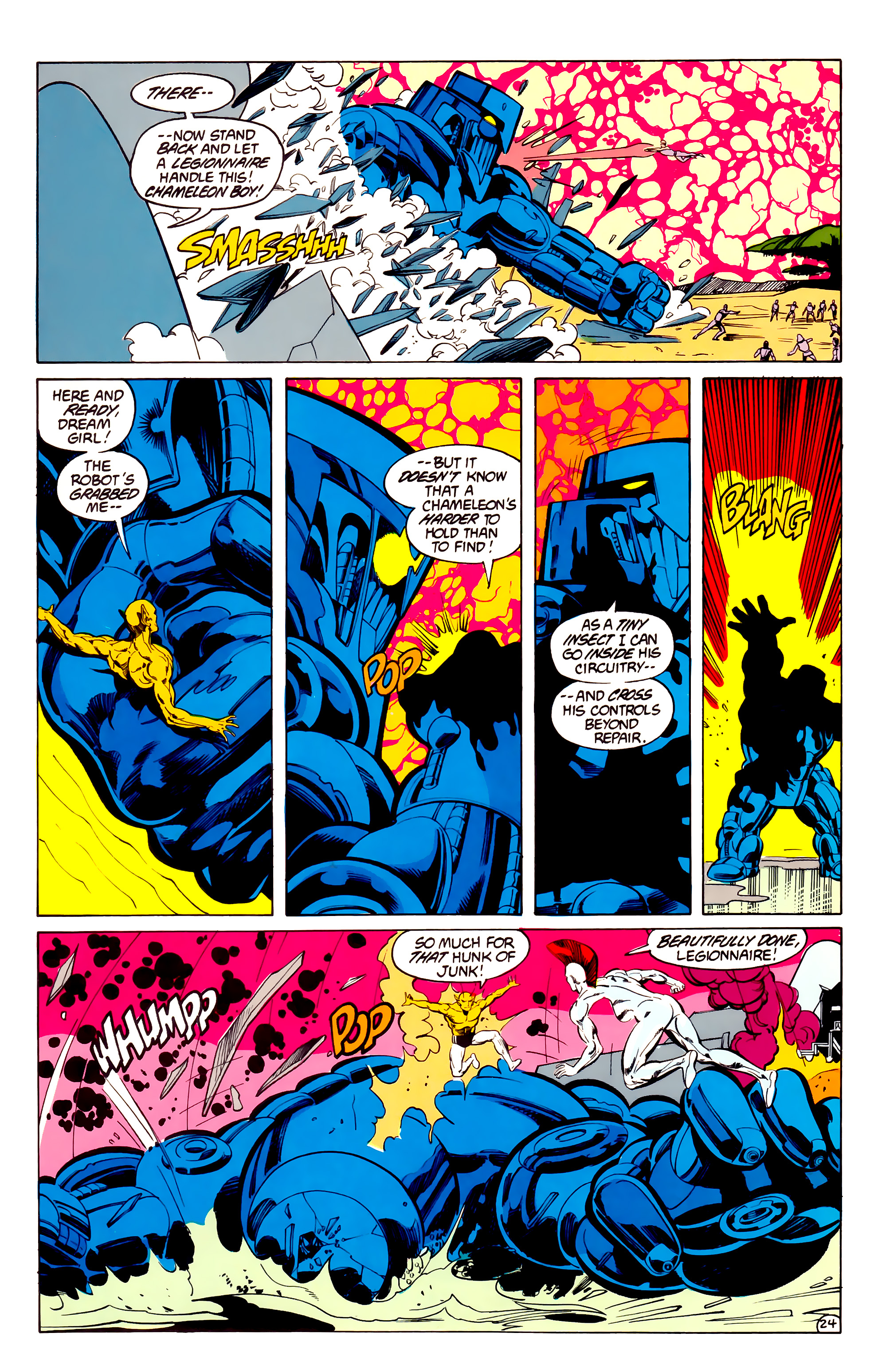 Legion of Super-Heroes (1984) 33 Page 24