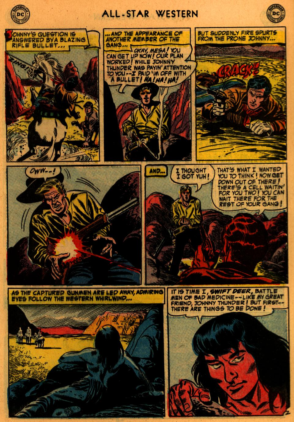Read online All-Star Western (1951) comic -  Issue #73 - 29