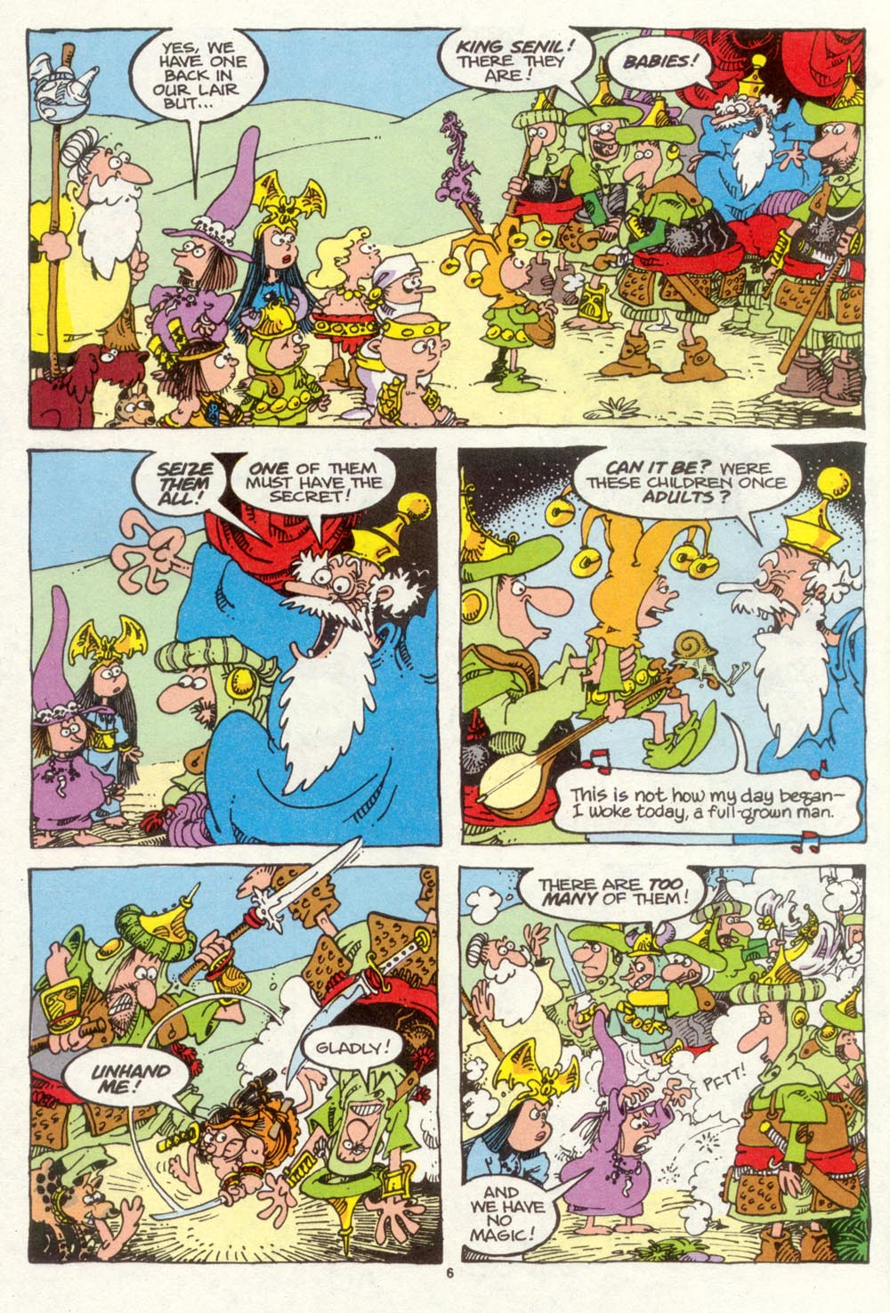 Read online Sergio Aragonés Groo the Wanderer comic -  Issue #93 - 7