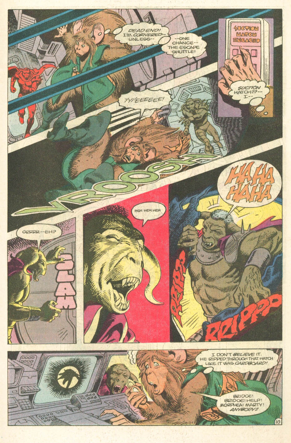 Read online Atari Force (1984) comic -  Issue #14 - 12