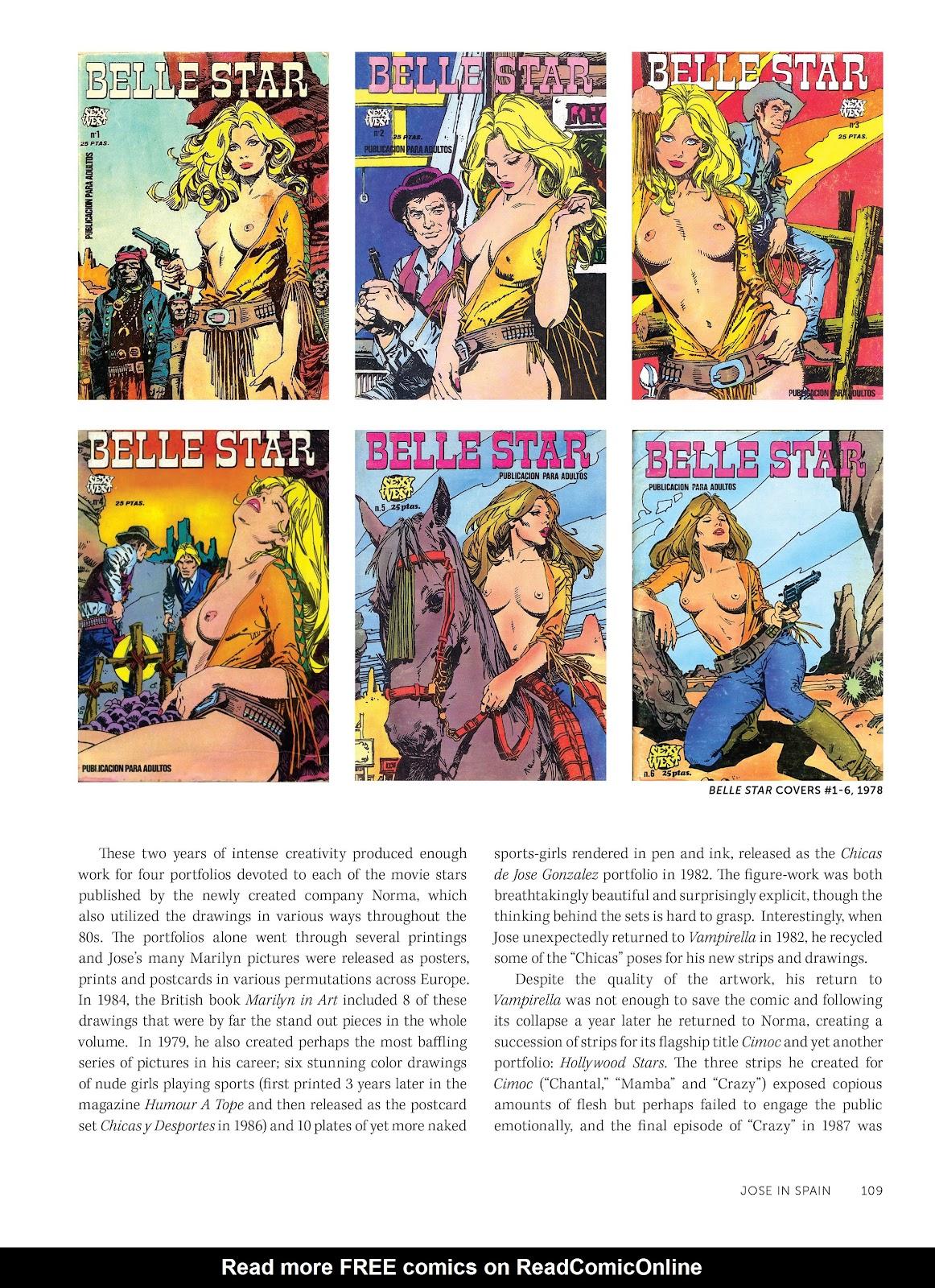 Read online The Art of Jose Gonzalez comic -  Issue # TPB (Part 2) - 11
