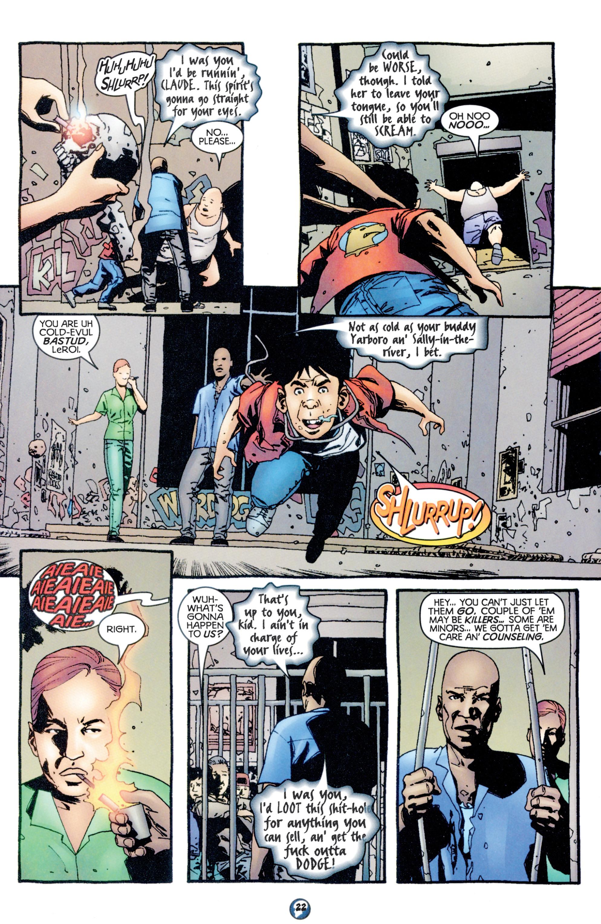 Read online Shadowman (1997) comic -  Issue #10 - 18