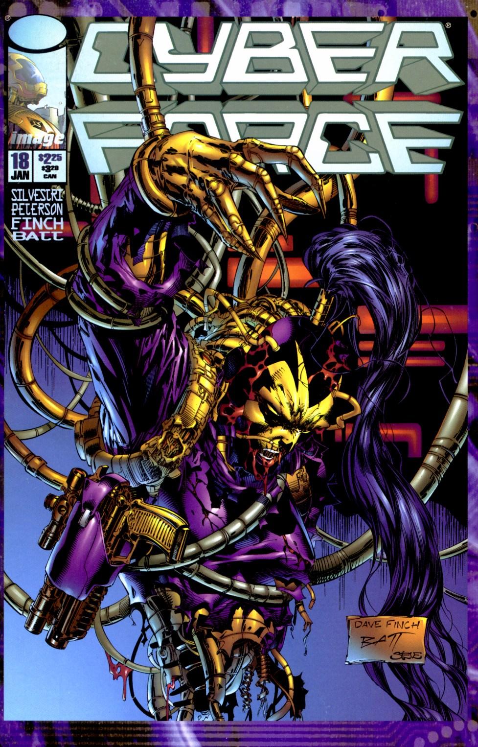 Cyberforce (1993) 18 Page 1