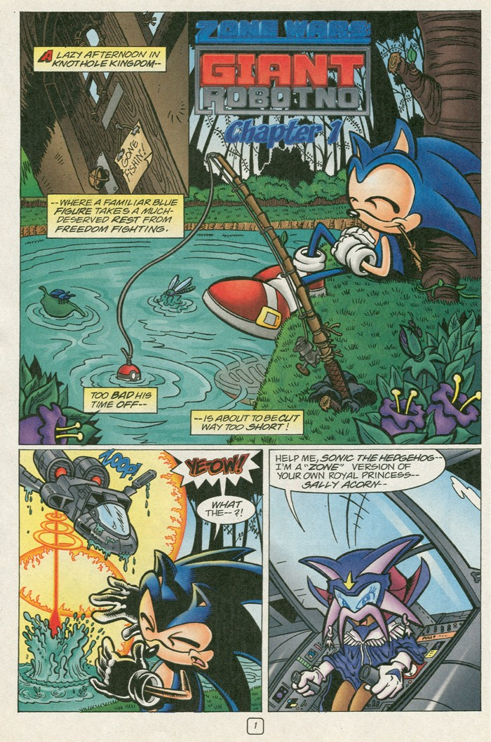 Read online Sonic Super Special comic -  Issue #12 - Sonic and Knuckles visa versa - 18