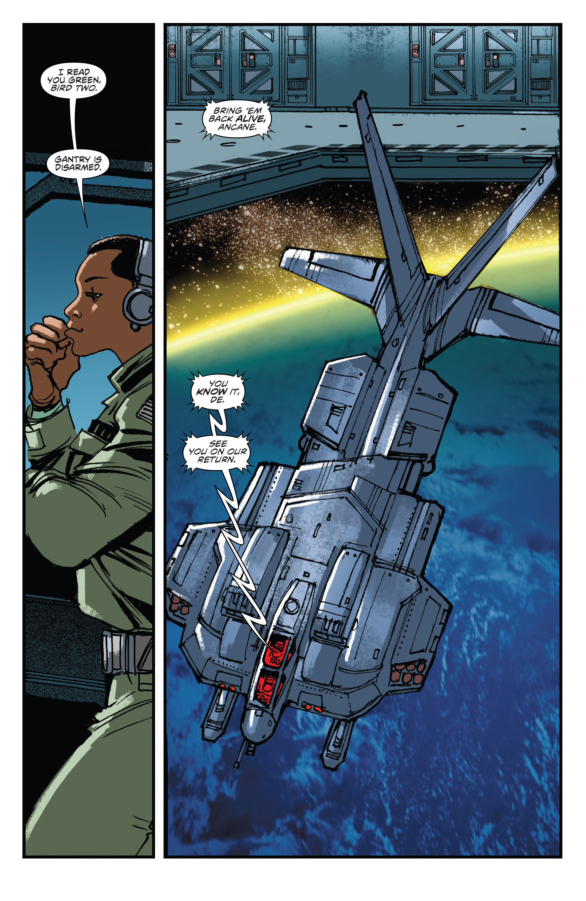 Read online Aliens: Life And Death comic -  Issue #2 - 15