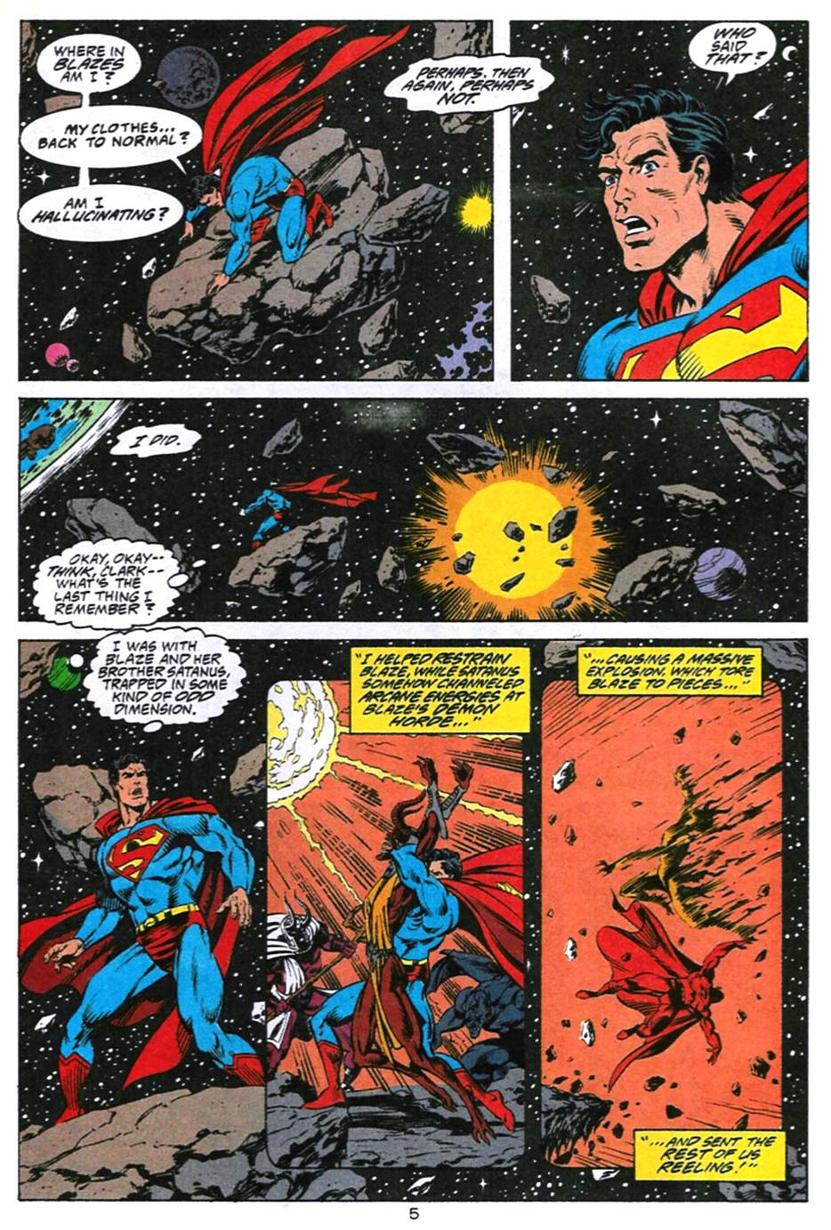 Read online Adventures of Superman (1987) comic -  Issue #494 - 6