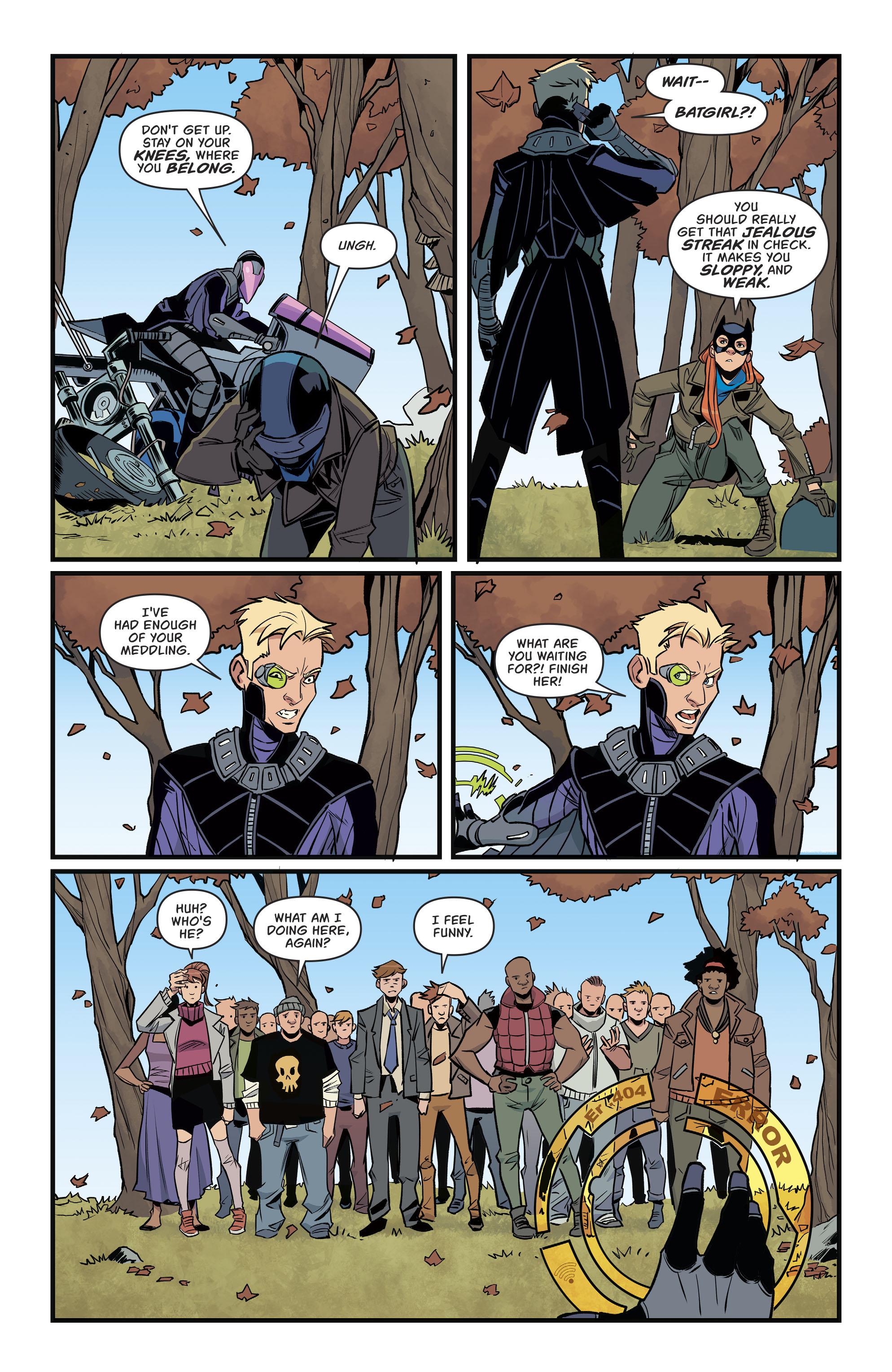 Read online Batgirl (2016) comic -  Issue #11 - 18