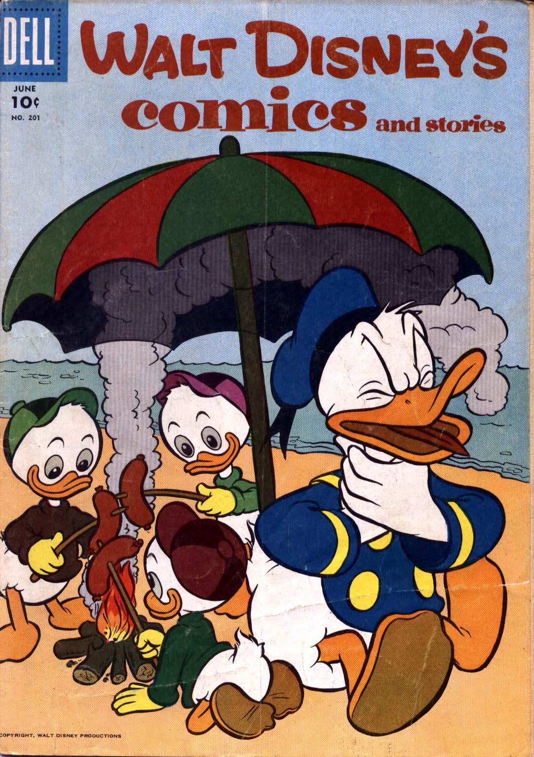 Walt Disneys Comics and Stories 201 Page 1
