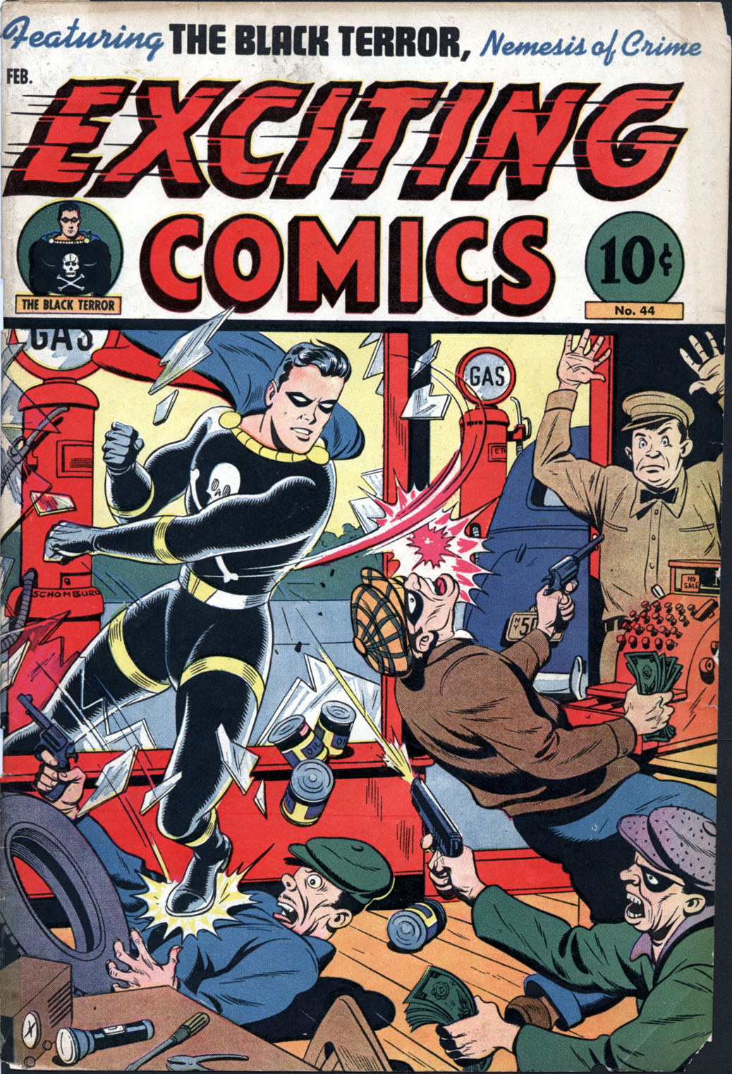 Exciting Comics (1940) issue 44 - Page 1