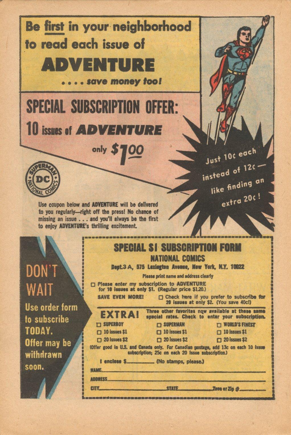 Read online Adventure Comics (1938) comic -  Issue #323 - 22