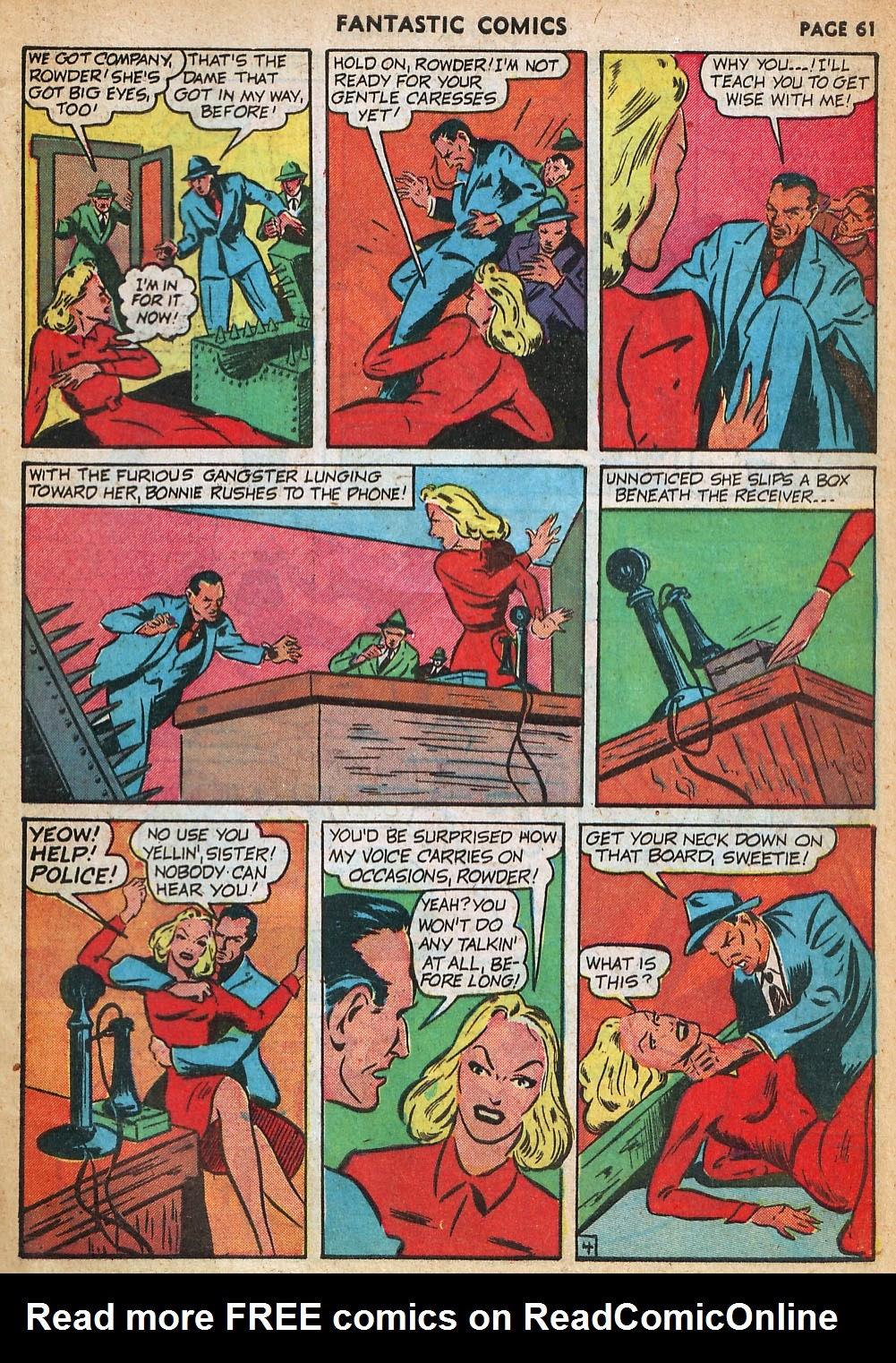 Read online Fantastic Comics comic -  Issue #22 - 62