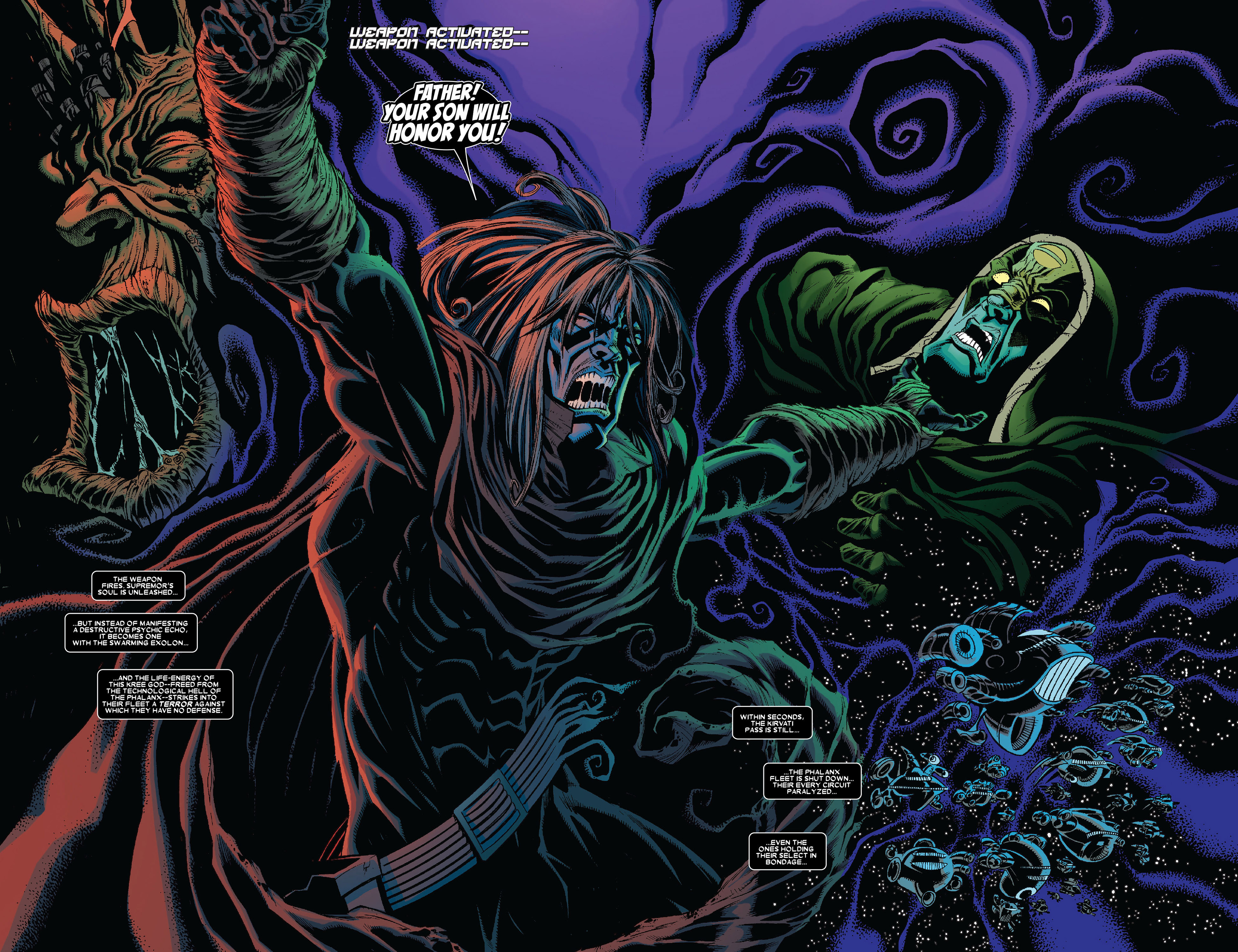 Read online Annihilation: Conquest - Wraith comic -  Issue #4 - 19