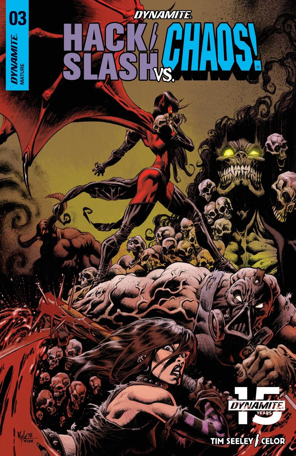 Read online Hack/Slash vs. Chaos comic -  Issue #3 - 3