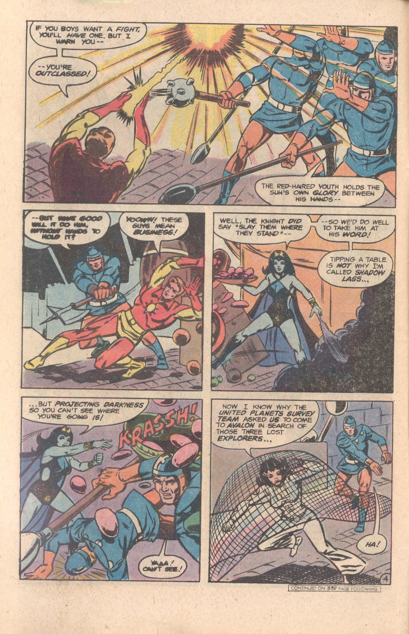 Legion of Super-Heroes (1980) 276 Page 4