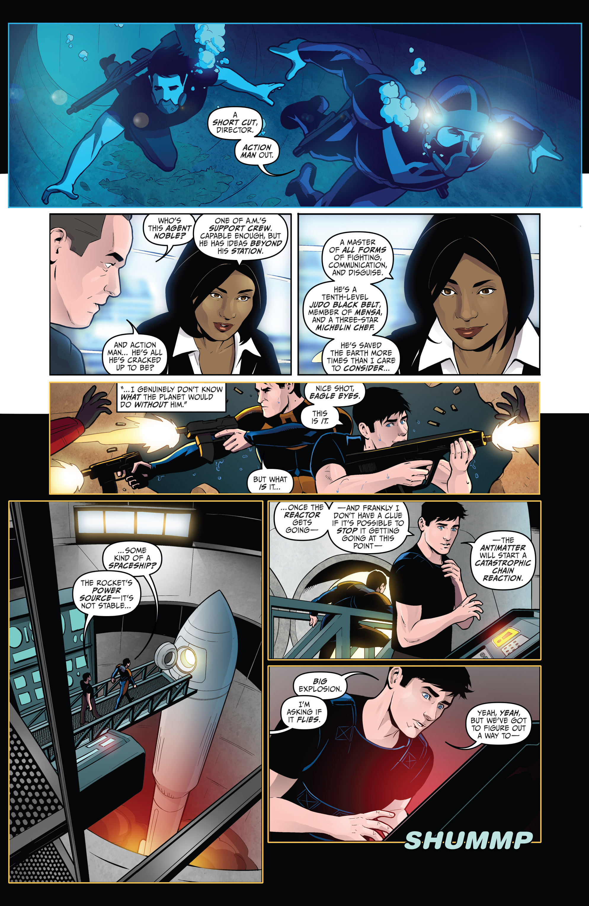 Read online Action Man comic -  Issue #1 - 5