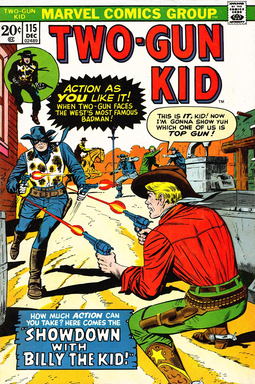 Read online Two-Gun Kid comic -  Issue #115 - 1