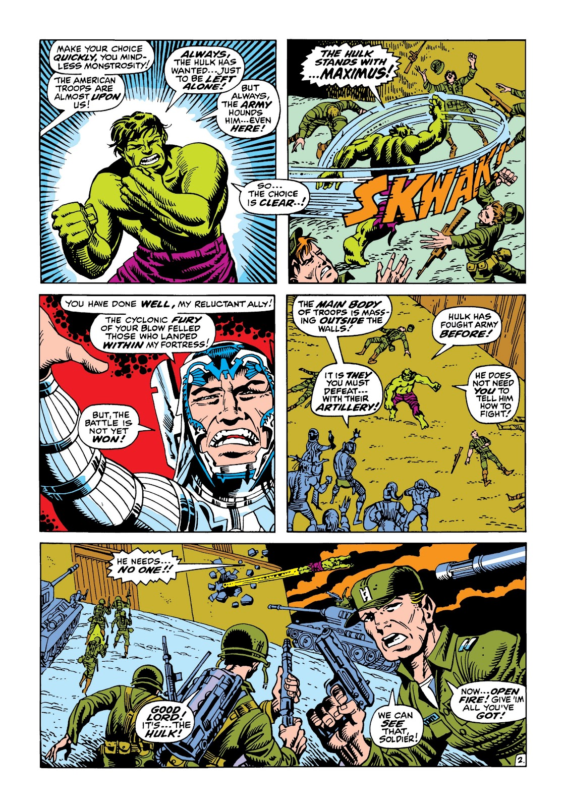 Read online Marvel Masterworks: The Incredible Hulk comic -  Issue # TPB 5 (Part 2) - 97