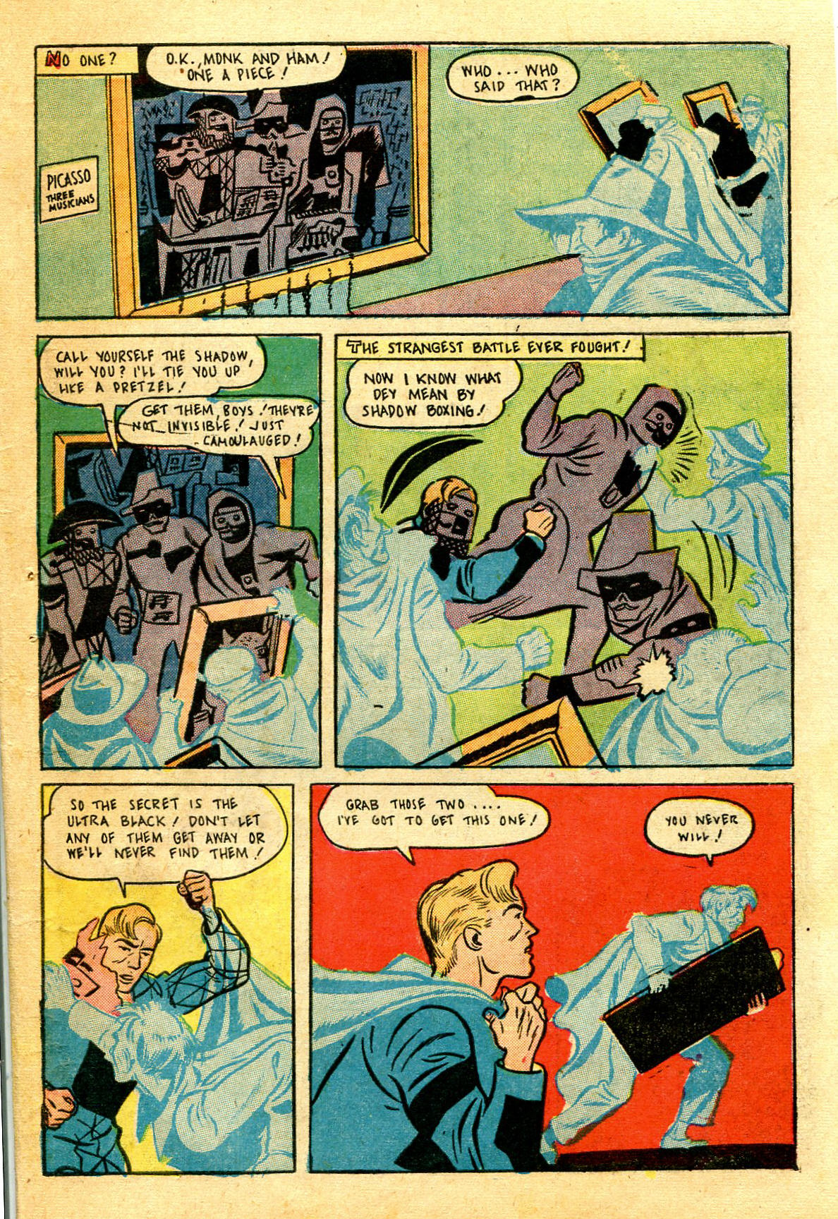 Read online Shadow Comics comic -  Issue #43 - 47